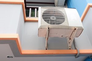 Air condition outdoor unit.