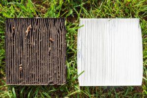 dirty filter causing HVAC problems