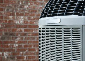 Air conditioner close-up
